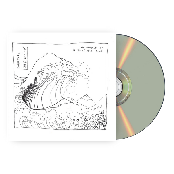 Courtney Barnett The Double EP: A Sea of Split Peas CD CD- Bingo Merch Official Merchandise Shop Official
