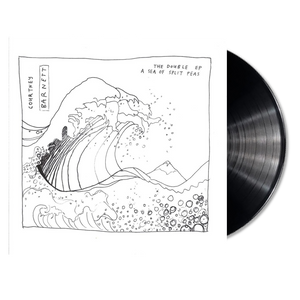 Courtney Barnett The Double EP A Sea Of Split Peas on Black Vinyl LP from Bingo Merch