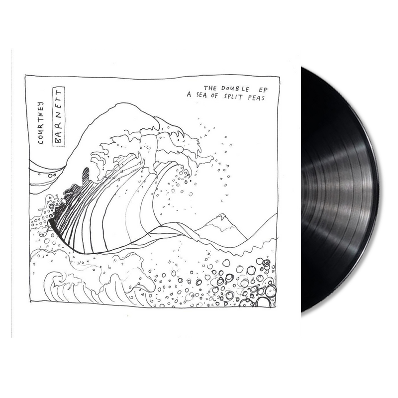 Courtney Barnett The Double EP: A Sea of Split Peas LP LP- Bingo Merch Official Merchandise Shop Official