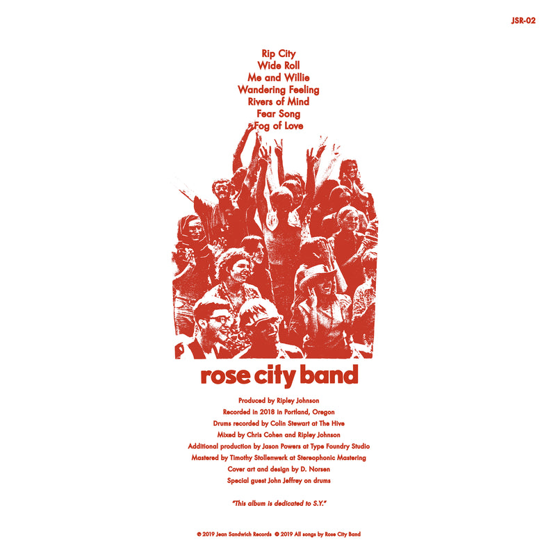 Rose City Band Rose City Band LP LP- Bingo Merch Official Merchandise Shop Official