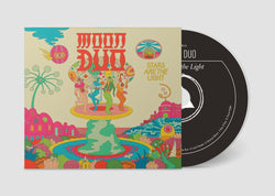 Moon Duo Stars Are The Light CD CD- Bingo Merch Official Merchandise Shop Official