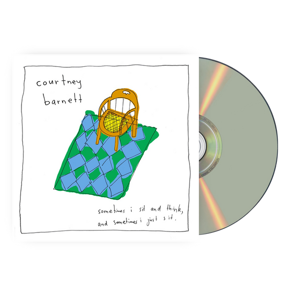 Courtney Barnett Sometimes I Sit And Think And Sometimes I Just Sit CD CD- Bingo Merch Official Merchandise Shop Official
