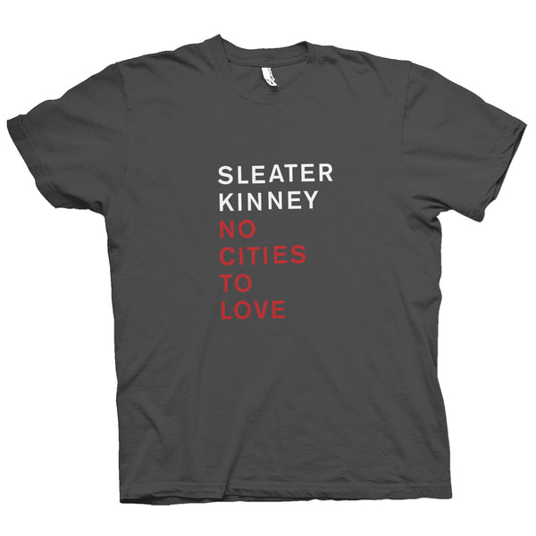 Sleater Kinney No Cities To Love T-Shirt- Bingo Merch Official Merchandise Shop Official