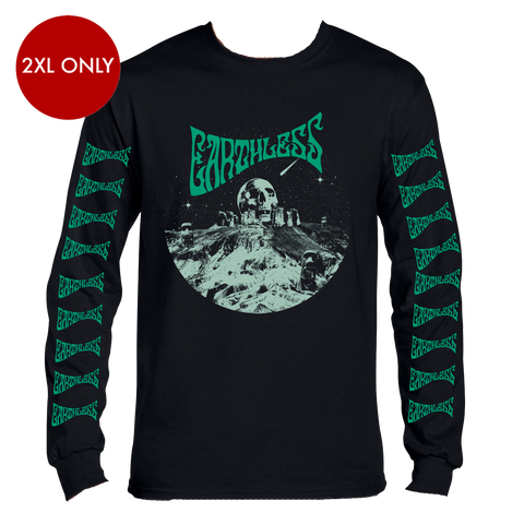 Earthless Skullhenge Longsleeve T-shirt - Bingo Merch Official Merchandise Shop Official