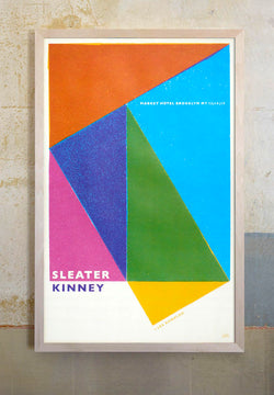 Sleater Kinney New York 2015 Poster Poster- Bingo Merch Official Merchandise Shop Official