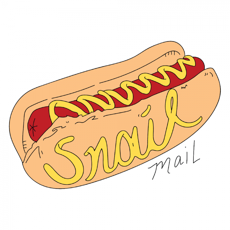 Snail Mail Hot Dog - Bingo Merch Official Merchandise Shop Official