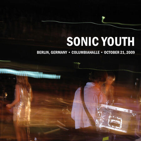 Sonic Youth Live At Columbiahalle, October 21st 2009 2xCD 2CD- Bingo Merch Official Merchandise Shop Official