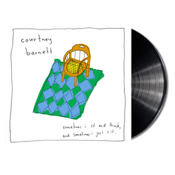 Courtney Barnett Sometimes I Sit And Think And Sometimes I Just Sit LP LP- Bingo Merch Official Merchandise Shop Official