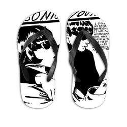 Sonic Youth (PRE-ORDER) Goo Flip-flops Other- Bingo Merch Official Merchandise Shop Official