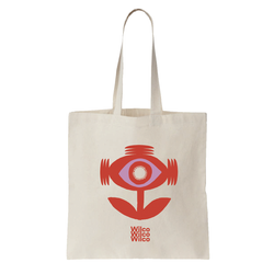 Wilco Sonic Flower Totebag Totebag- Bingo Merch Official Merchandise Shop Official