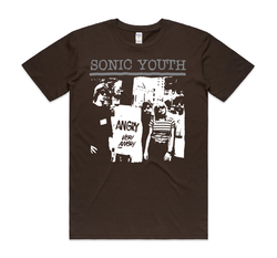 Sonic Youth Angry T-Shirt- Bingo Merch Official Merchandise Shop Official