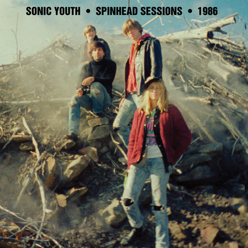 Sonic Youth Spinhead Sessions LP LP- Bingo Merch Official Merchandise Shop Official