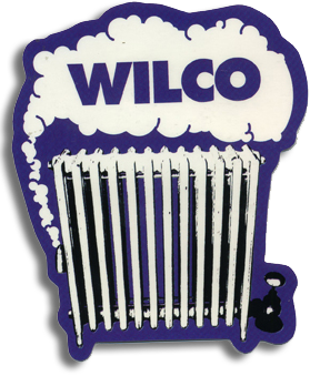 Wilco Radiator Sticker Other- Bingo Merch Official Merchandise Shop Official