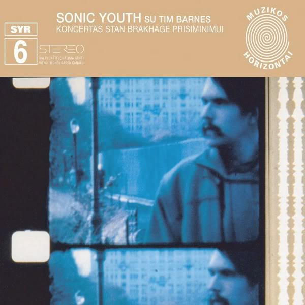 Sonic Youth SYR 6: Koncertas Stan Brakhage Prisiminimui CD CD- Bingo Merch Official Merchandise Shop Official