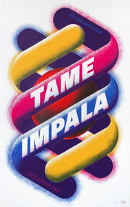 Tame Impala Amsterdam 2016 Poster- Bingo Merch Official Merchandise Shop Official