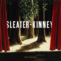 Sleater Kinney The Woods LP LP- Bingo Merch Official Merchandise Shop Official