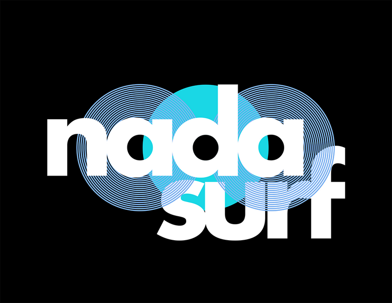 Nada Surf Tri Circle T-Shirt- Bingo Merch Official Merchandise Shop Official