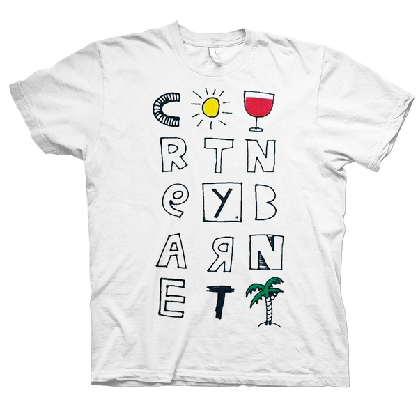 Courtney Barnett Tropical Colour T-Shirt- Bingo Merch Official Merchandise Shop Official