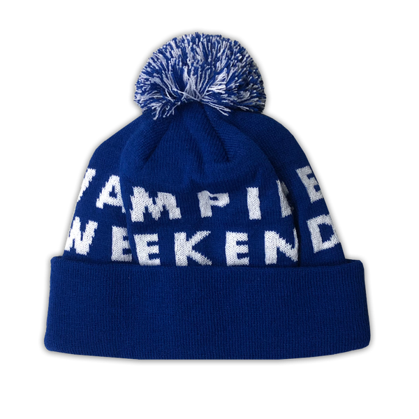 Vampire Weekend Custom Knit Hat Hat- Bingo Merch Official Merchandise Shop Official