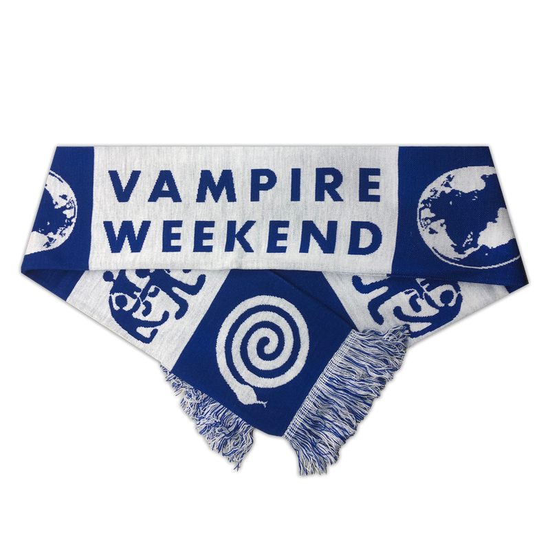 Vampire Weekend Custom Knit Scarf Other- Bingo Merch Official Merchandise Shop Official