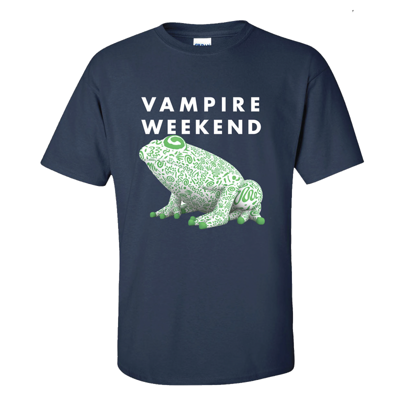 Vampire Weekend Inflatable Frog T-Shirt T-Shirt- Bingo Merch Official Merchandise Shop Official