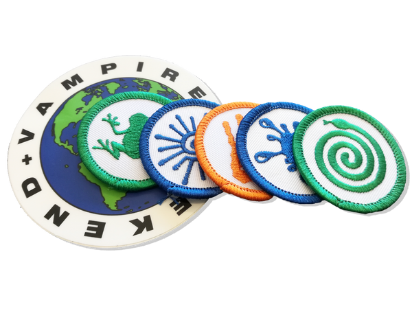 Vampire Weekend Patch & Sticker Set Other- Bingo Merch Official Merchandise Shop Official