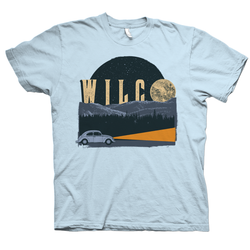 Wilco Blue Moon T-Shirt T-Shirt- Bingo Merch Official Merchandise Shop Official