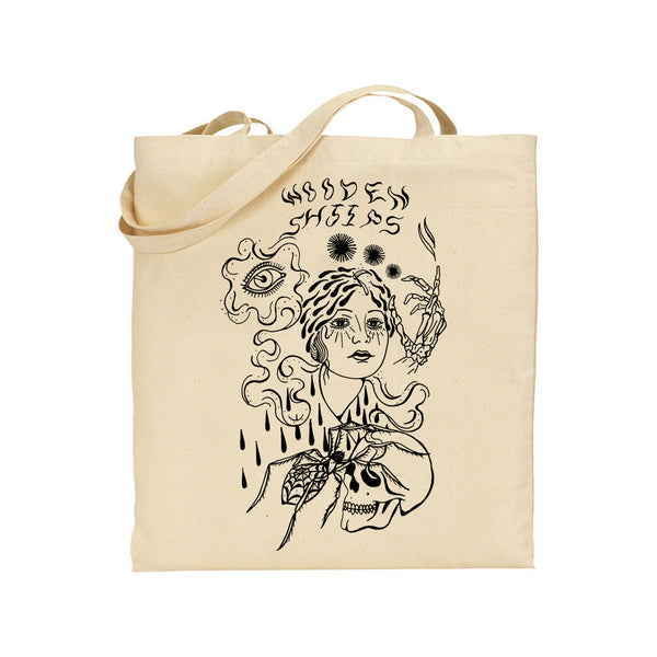 Wooden Shjips Pond Lady Totebag Totebag- Bingo Merch Official Merchandise Shop Official