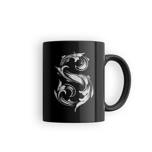 dark coffee mug