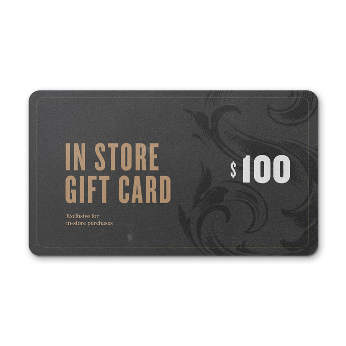 Sweetleaf Coffee Roasters 100 USD Gift Card  - for in-store purchases