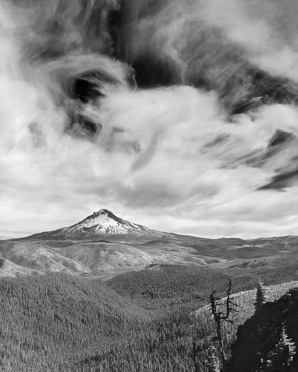 3077 Mt Hood National Forest from Highrock Lookout