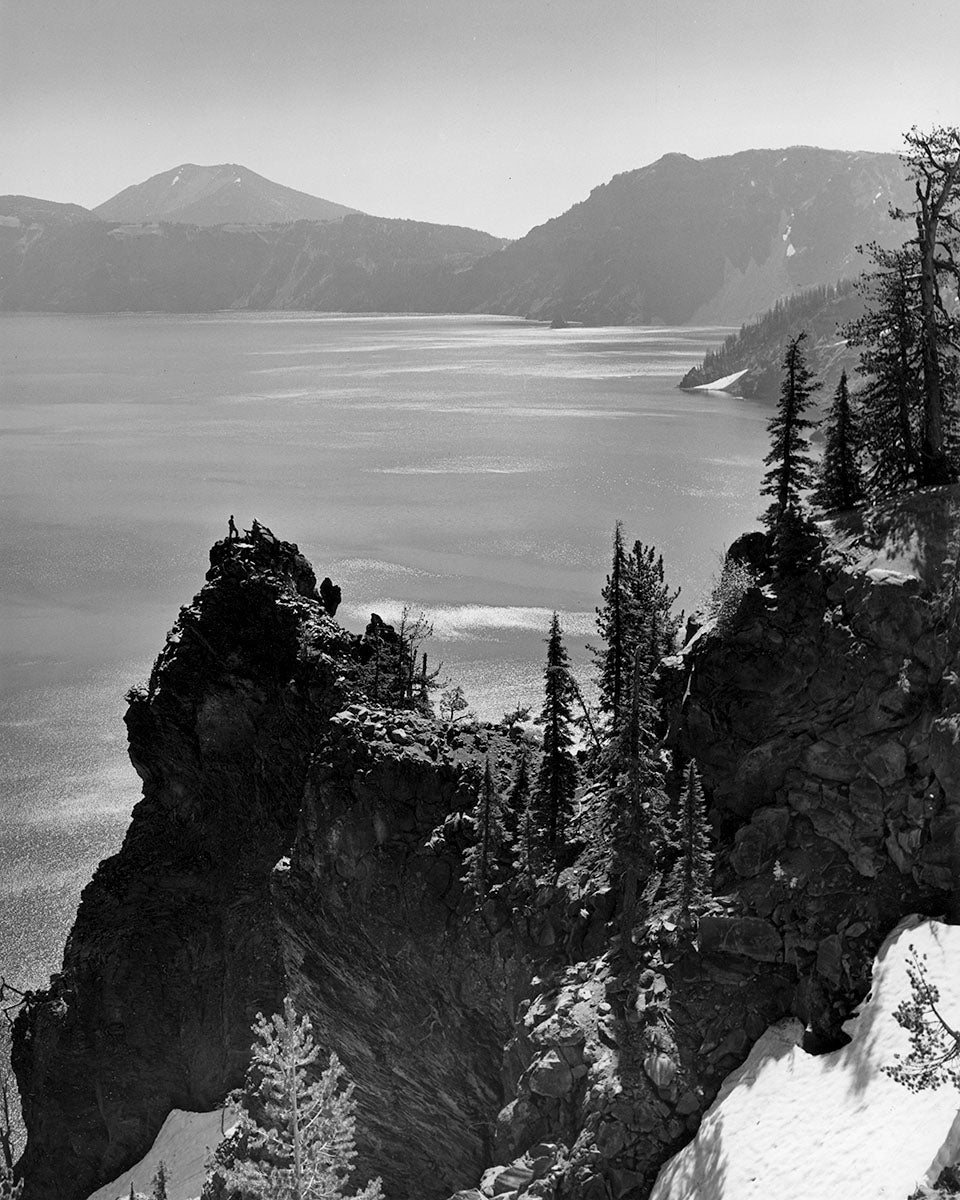 5296A Lone Hiker Crater Lake National Park