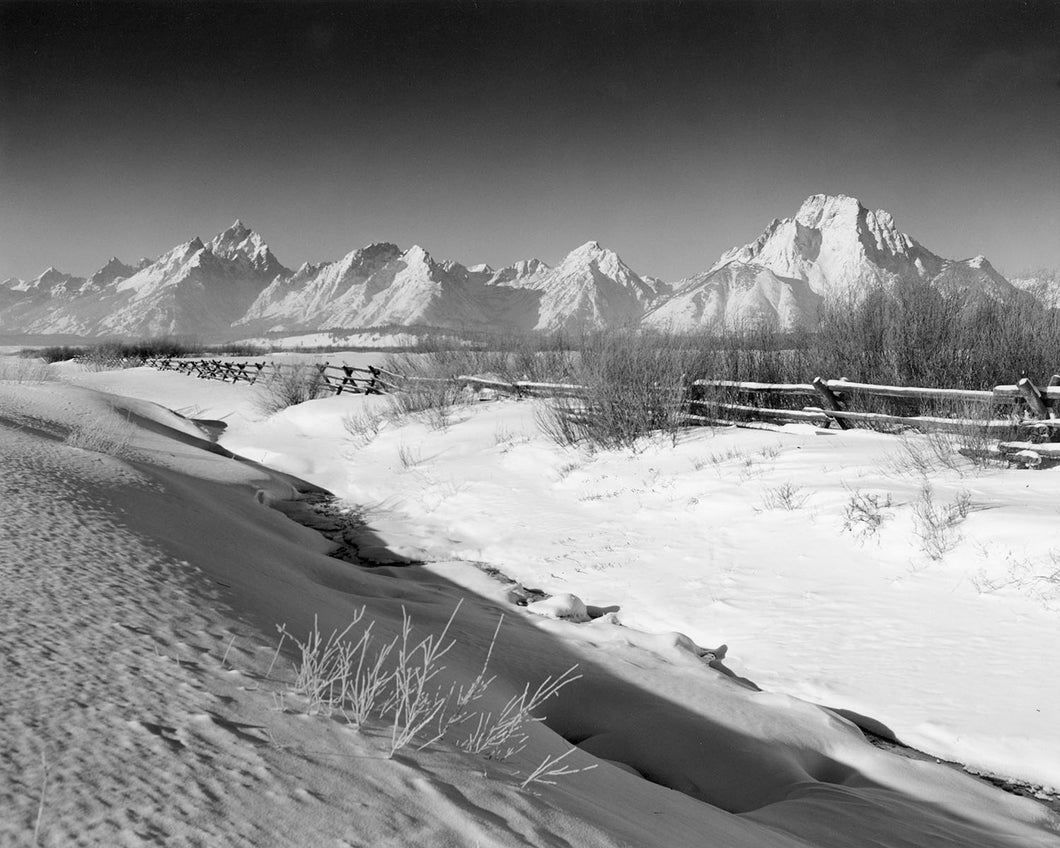 6346A The Teton Range