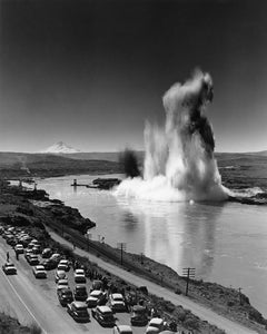 6968B The start of consruction on The Dalles Dam