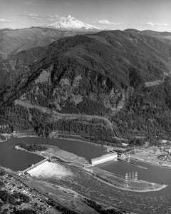 7527 Mt Hood Columbia River Bonneville Dam