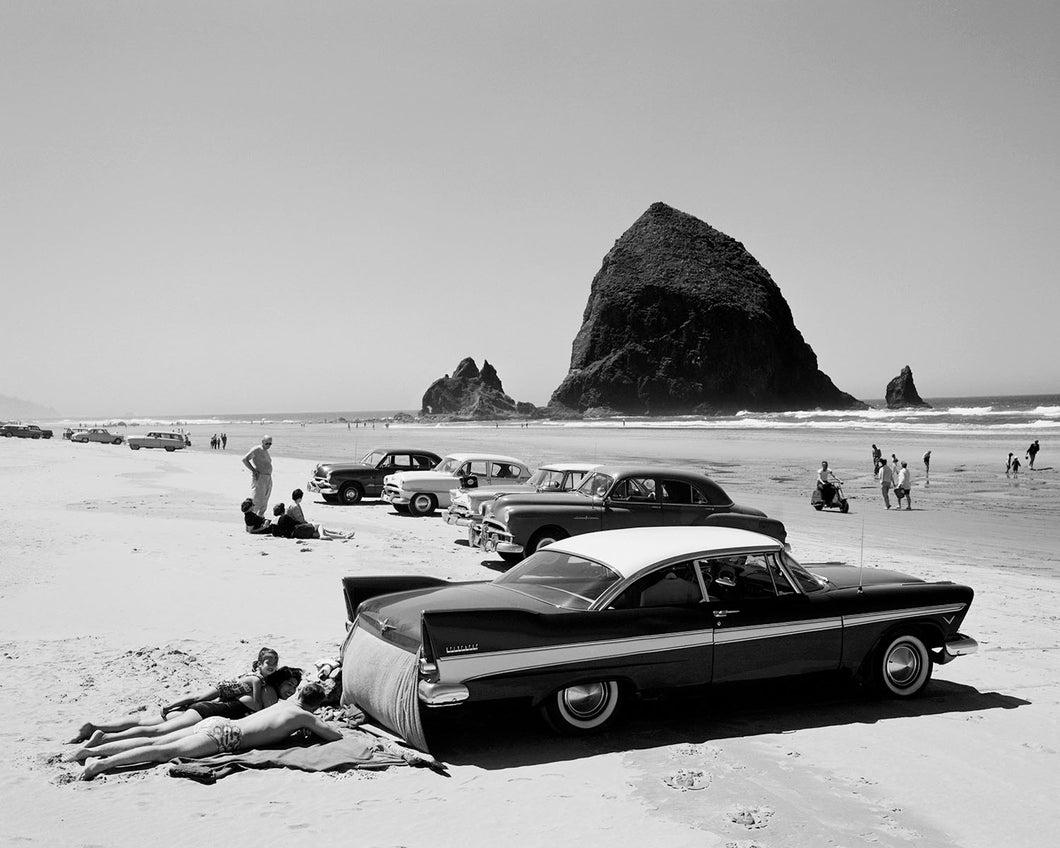 7615C Cars on Cannon Beach