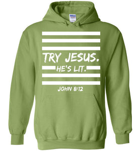 Jesus is Lit Hoodie | adult sizes | more colors available