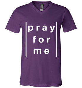 pray for me lined tee | unisex