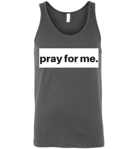 pray for me block tank | more colors available