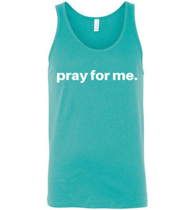 pray for me men's signature tank | more colors available