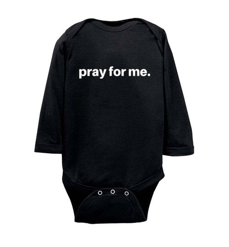 pray for me signature infant bodysuit | more colors available