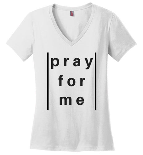 pray for me lined tee | women's sizes | more colors available