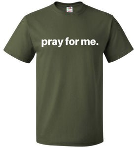 pray for me signature tee | unisex adults | youth sizes | more colors available