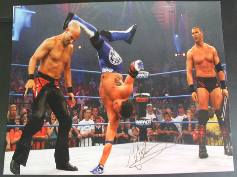 AJ Styles Pose 1 11x14 Signed Photo COA