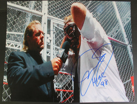 Mankind Cactus Jack Signed 11x14 Photo COA