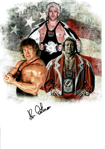 Ken Patera Pose 1 Signed Photo COA
