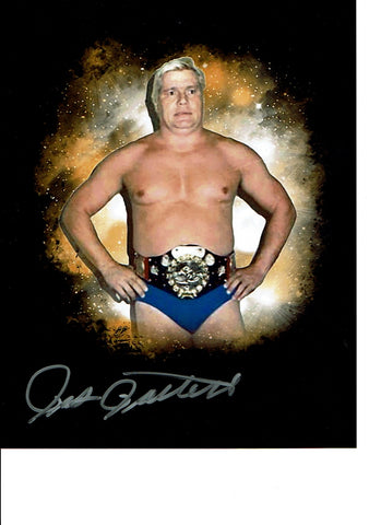 Pat Patterson Pose 2 Signed Photo COA