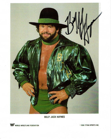 Billy Jack Haynes Pose 1 Signed Photo COA