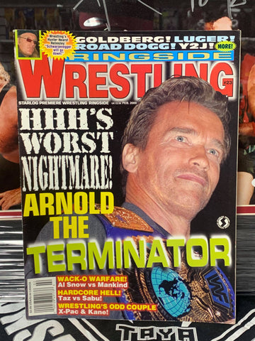Ringside Wrestling Magazine #23 February 2000 (DDP/Goldberg Poster)