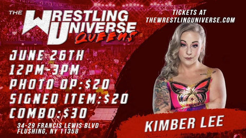 In-Store Meet & Greet with Kimber Lee Sat June 26th from 12-3PM TIX NOT MAILED (CHOOSE COMBO $30/SIGNED ITEM $20/PHOTO OP $20)